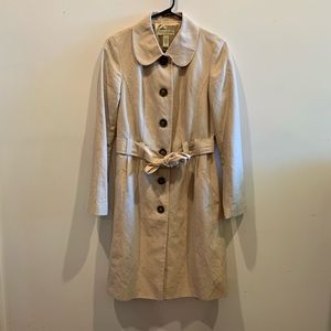 Fashionable Tan Trench Coat